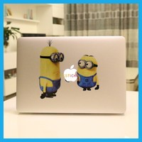 Wholesale Computer Accessories Minions for MacBook Laptop Sticker Decal Skin 11 12 63