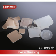 medical functional silicone wound dressing for Heavy Exudates