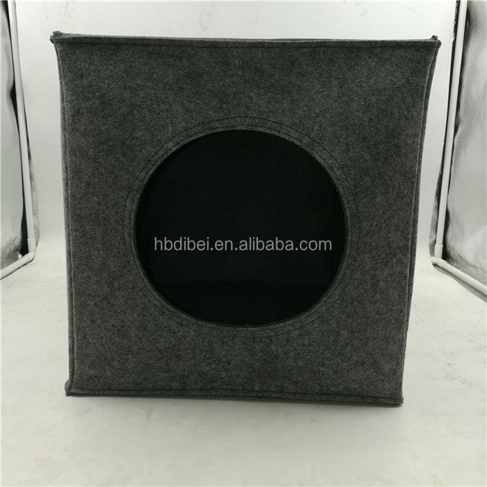 polyester felt rectangle pet cave cat bed manufacturer