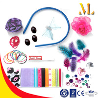 Kids practice beautiful toys head jewelry make accessories fashion headbands