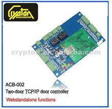 New Access Control Board with Web Standalone +Web function+TCP/IP Communication with Adroitor software+Double Door