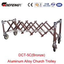 Good price DCT-5C(Bronze) Funeral Casket Cart