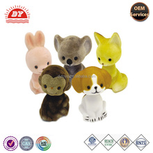 Vinyl flocked animals toy