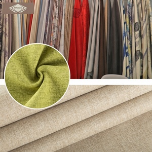 Woven Sofa Fabrics Linen Fabric for Sofa Upholstery Sofa Fabric