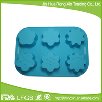 Handmade silicone soap flower mould