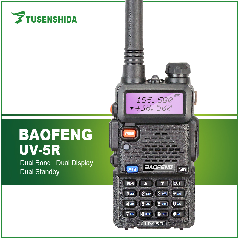 Dual band radio HT Baofeng UV-5R 5w walkie talkie