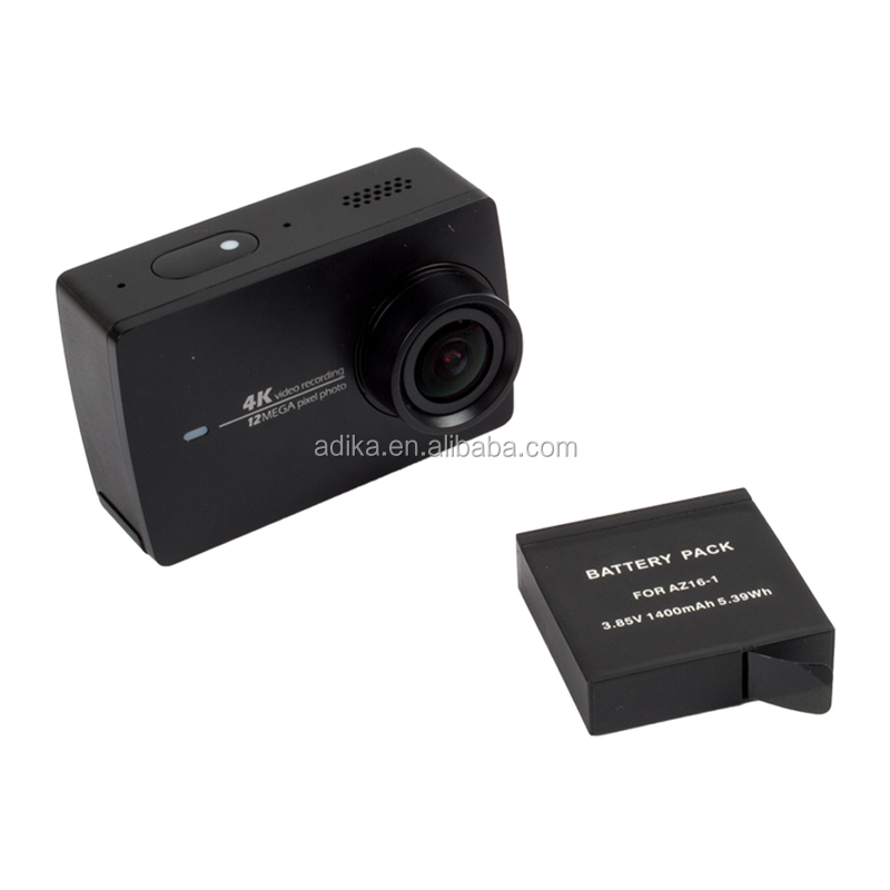 Xiaomi YI 2 camera battery, 1400mah,3.85V,5.39Mh for xiaomi yi 4K action sport camera A242