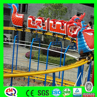 exciting fun rides mini roller coaster for sale from China manufacturer