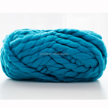 chunky 100% acrylic knitting yarn for blanket and carpet with multi colors