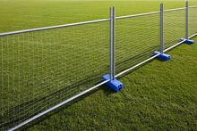 advanced temporary metal fence panels