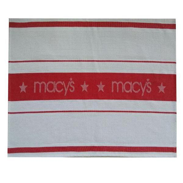 customized 100%cotton jacquard kitchen towel for USA