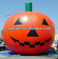 Halloween inflatable pumpkin balloons with low price S8009