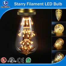 Vintage Candle 2200K C35 0.5W Starry LED Filament Bulb