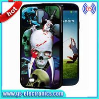 Amazing skull 3d phone case Wholesale for i9500 cell phone shell,Deformation of magic cases for s4