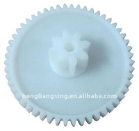 plastic injection mould double-spur gear for gearbox