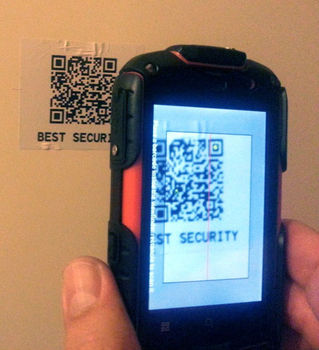 QR-Patrol The Smartest Guard Tour Patrol System GPS GPRS online security stickers no rfid