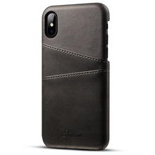 China wholesale leather phone case for iphone 8 case with card holder, phone accessories mobile case for iphone 8