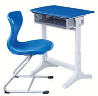 2013 New Design School Desk and Chair used school furniture in pakistan