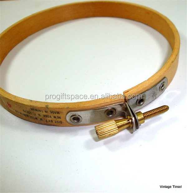 Hot sell adjustable Vintage Wood Embroidery Outer Hoop made in China