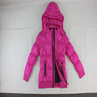 Jackets Coats Cotton-padded Black Clothes Winter Coat