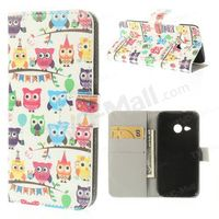 For HTC One Mini 2 / M8 Mini Magnetic Flip Leather Wallet Cover