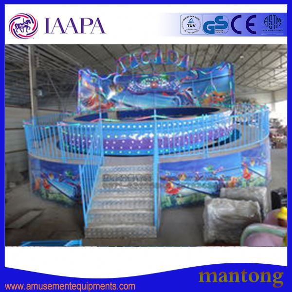 China/ Factory / Manufacturer / Kermis / Amusement Park Disco Tagada /Fun Fair Rides For Sale