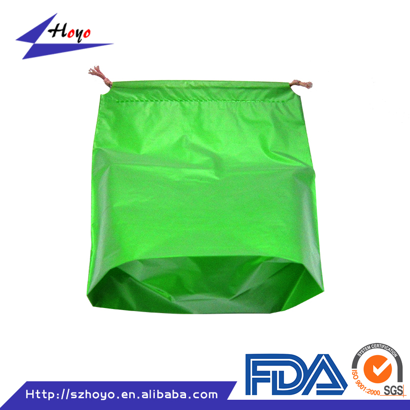 Accept Custom Order and Cotton, Nylon, Polyester Material Cheap Drawstring Plastic Pouch for Food Packaging/.