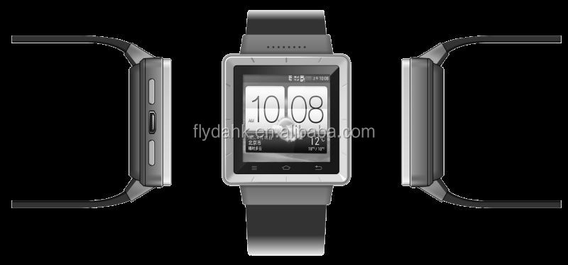 Android smart watch mobile phone S6 MTK6577 Dual Core 3G