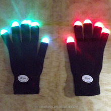 Flashing Fingertip Light LED safety glove cotton glove winter glove