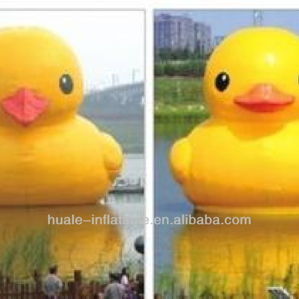 High Quality Inflatable Advertising Yellow Rubber Duck for Sale
