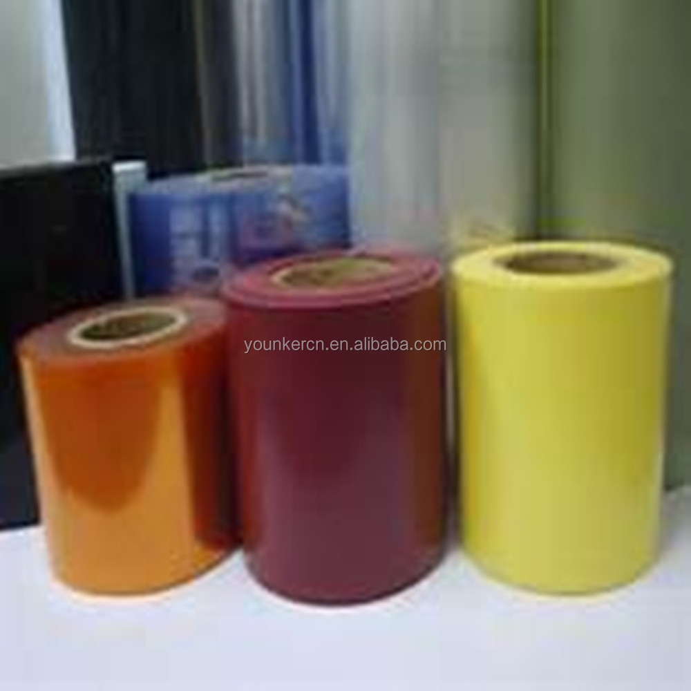 Processing Type And Shrink Film Type Crystal Clear Pvc Film