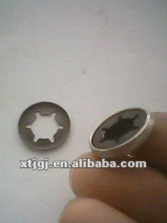 Stainless steel or Spring steel star washer madd in china