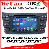 Wecaro WC-MB7501 Android 4.4.4 car dvd player 2 din car audio system for benz e-class w211 2002 - 2008 TV tuner