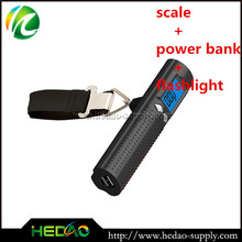 High quality built in power bank digital weighing scale