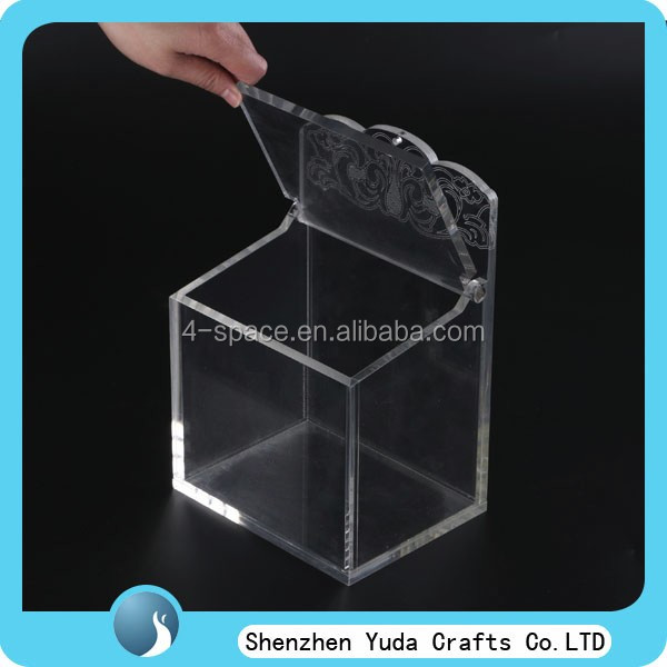 clear acrylic box with lids and compartments clear acrylic favor box customized acrylic box