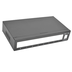 Network Switch Router Custom Made Metal Enclosure Box Housing