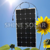 semi flexible solar panel for cruisers house boats 100w 120w solar panel