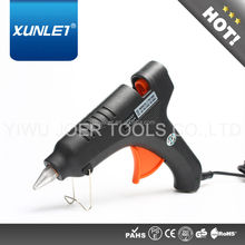 60W Black Professional Hotmelt Glue Gun