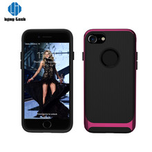 Environmental smelless material professional made tpu pc mobile phone case for iphone 7