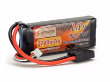 2S 7.4v 2000mAh 50c with Traxxas connector rc car soft case lipo battery pack