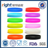 Colorful cheapest custom silicone rubber bracelets