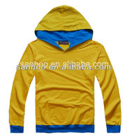 Hot Sale New Design Contrast Hoodie With Kangaroo Pocket