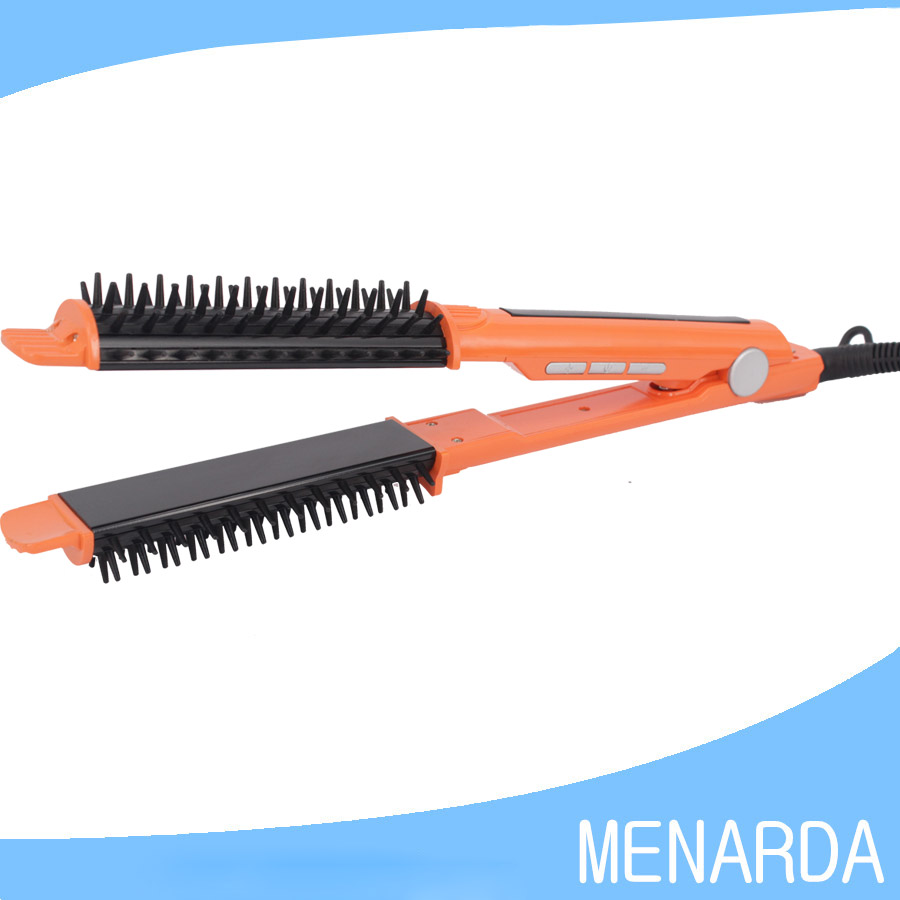 Professional Multi Functional Hair Styler 230c 2 In 1 Flat
