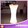 wholesaler rechargeable party table /disco table led bar furniture table