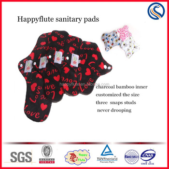lady menstrual pads reusable washable nursing pads organic sanitary cloth napkin manufacturer