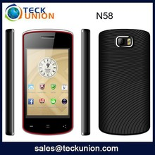 N58 3.5inch Hot selling cheap touch screen mini mobile phone