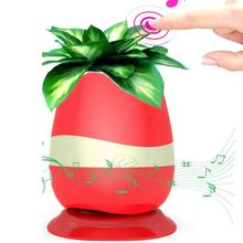 2017 Creative Sing Flower Pot Led Sing Wireless Speaker