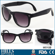foldable sun glasses, folding promotional sunglasses uvb uva