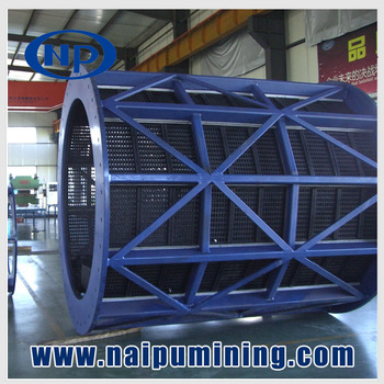 ISO standard cylinder sieve for grinding mill