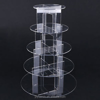 new custom acrylic cake stands with lights